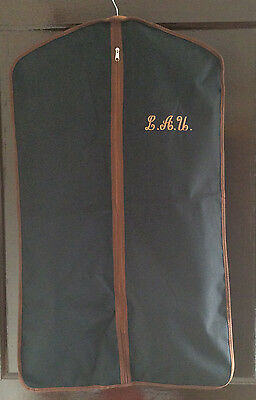 Black and Brown Suit Cover - Travel, Storage Protector Bag