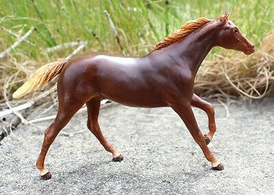 Calidi - custom sorrel Breyer Paddock Pals Thoroughbred CM Little Bit horse