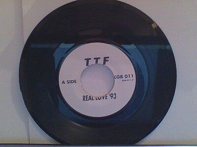 Ttf(The Time Frequency)  Real Love '93--White Label--Con. See Desc.