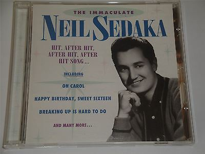 Neil Sedaka  - The Immaculate Collection - 12 Greatest Hits CD Album