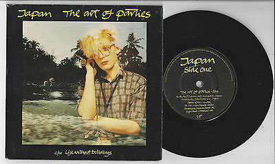 "JAPAN The Art Of Parties - EX/VG+ Cond 7""  Limited Edition Fold Out Sleeve"