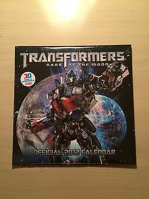 Official Transformers: Dark of the Moon 3D Calendar 2012 (Brand New & Sealed)