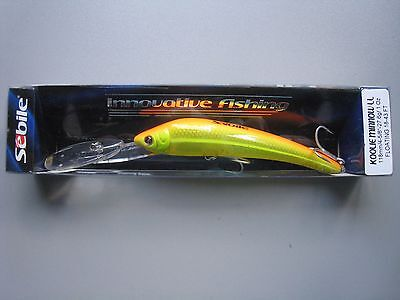 Sebile KOOLIE MINNOW LL (Long Lip) Floating 118mm, 27,6 g  Farbe: OZ-BROY