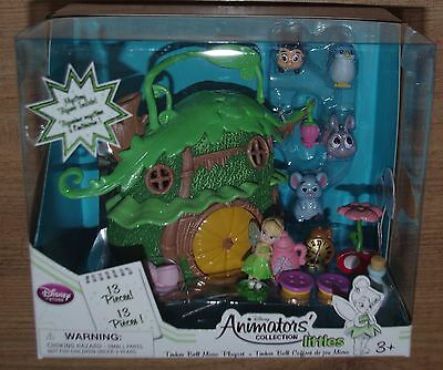 Disney Store Tinker Bell Micro Playset Animators Collection Littles Cottage hous