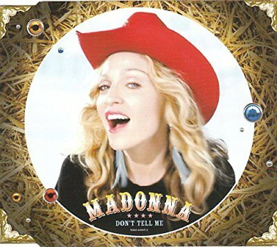 Dont Tell Me - Madonna CDS -  CD KAVG The Cheap Fast Free Post The Cheap Fast