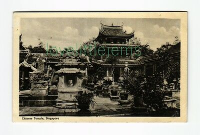 c1910 PPC Chinese Temple Singapore