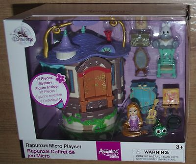 Disney Store Rapunzel Micro Playset Animators Collection Littles house Tangled