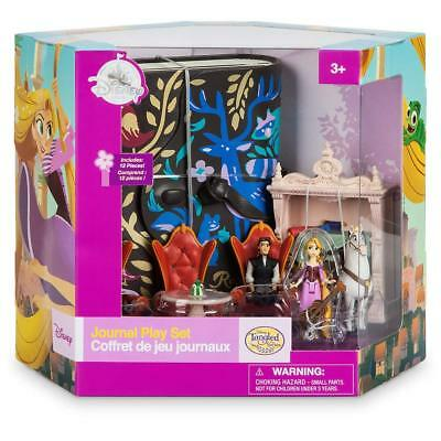 Disney Store Rapunzel Tangled The Series Journal Playset 5 figures Eugene Flyn