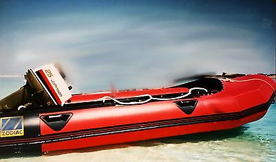 Zodiac MK11 Inflatable Worth Johnson 25hp Outboard