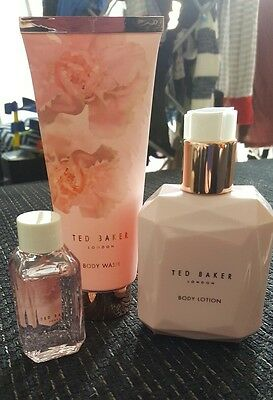 ted baker body set baby pink new