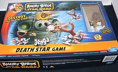 Angry Birds Star Wars Jenga Destroy The Death Star Game W/ Exclusive Chewie