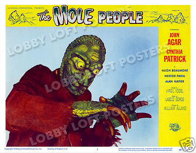 The Mole People  Lobby Scene Card # 3 Poster 1956