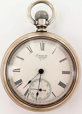 .`SUPER RARE c1894 WALTHAM ROYAL 18S 17J, ONLY 3,000 WERE PRODUCED !!!! WORKING.