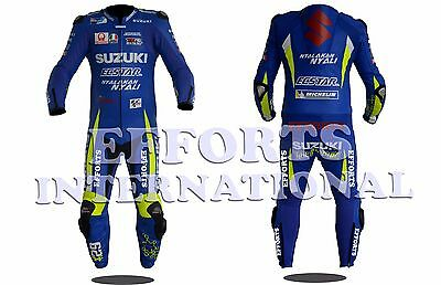 Andrea Iannone Suzuki Motorbike Racing Leather Suit 2017 Mens & Womens All Size