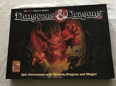 Tsr Dungeons And Dragons Boardgame Unplayed Unpunched