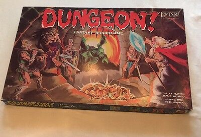 Dungeon Fantasy Boardgame By TSR