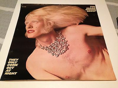 Edgar Winter Group Epic Records They Only Come Out At Night Poster Derringer LP