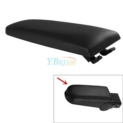 1pc Armrest Cover Center Console Latch Lid Smooth For VW Passat Jetta Golf OB