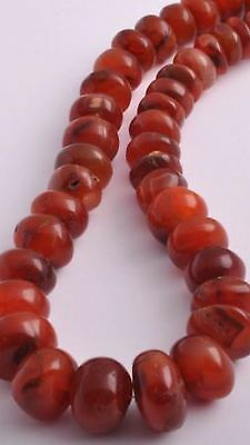 Antique Old Carnelian Agate beads Necklace-trade beads strand