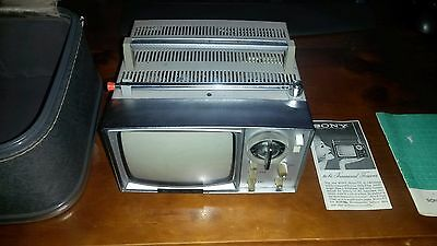 Sony Micro TV 5-202V from the early 1960s