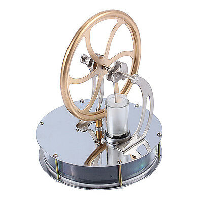 Low Temperature Stirling Engine Motor Steam Heat Education Model 180-200RPM Gift