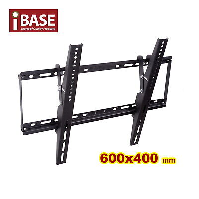Tv Wall Mount Bracket Lcd Led Plasma Flat Tilt 32 40 46 50 55 60 64 70 75 Free