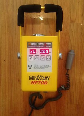 MINXRAY HF70D Portable X-Ray w/ Exposure Switch and Cord