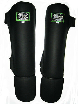 Ace Ill Fortune Shin Guards Muay Thai MMA
