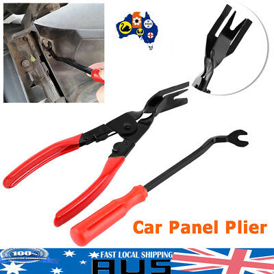 New Car Door Panel Trim Clip Removal Plier&Upholstery Remove Pry Bar Tool Set