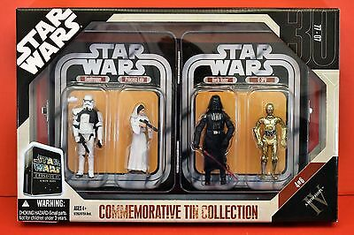 Star Wars  2006 A  New Hope Commemorative Tin Collection 4 Iconic Figures Mint++