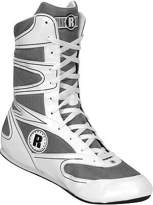 Ringside Hi-Top Undefeated Boxing Shoes - White
