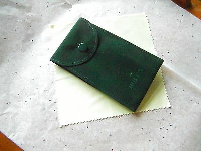 100% Genuine Rolex Service / Travel Pouch  New Condition. From Rolex Service.