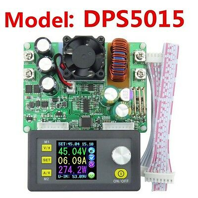 DPS5015 DC 0-50V 15A LCD Digital Programmable Step-down Regulated Power Supply