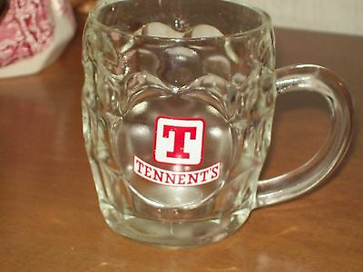 Half Pint Glass Tankard Crown 478 St Helens - Tennents Lager