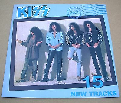 KISS Hot In The Shade Original 2 Sided Promo 12x12 Poster Flat 1989 Mint-