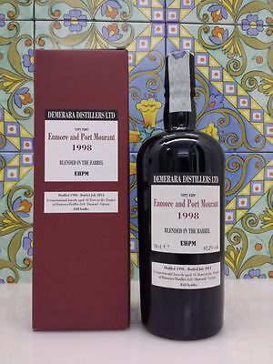 Rum ENMORE & PORT MOURANT 1998 - 16 years - 62,2% - only 848bot. - Velier
