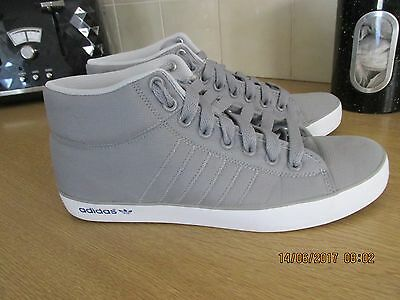 Mens Adidas trainers UK size 9  VGC GREY