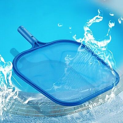 Pool Deep Leaf Skimmer Rake Net Hot Tub Swimming Spa Cleaning Leaves Mesh Tool