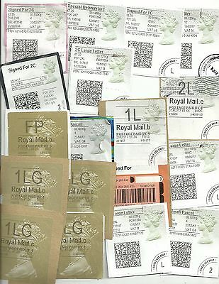GB Post Office Horizon Labels 120+ sold for charity