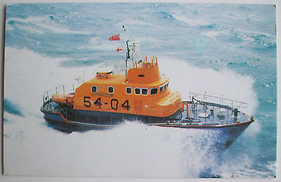 Rnlb 'tony Vandervell' Weymouth 54-04 ~ Arun Class Lifeboat On 1049 - Ppc