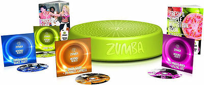 ZUMBA STEP RIZER Incredible Results DVD Set & STEP RIZER