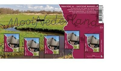 Nederland / The Netherlands - Postfris/MNH - Sheet Countryside Drentsche Aa 2017