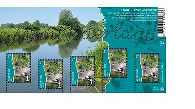 Nederland / The Netherlands - Postfris/MNH - Sheet Countryside De Linge 2017