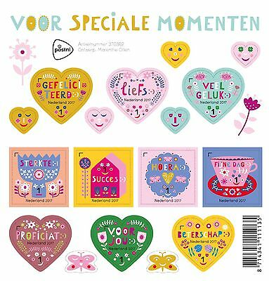 Nederland / The Netherlands - Postfris/MNH - Sheet Special Moments 2017