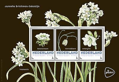 Nederland / The Netherlands - Postfris/MNH - Sheet Spring Flowers 2017