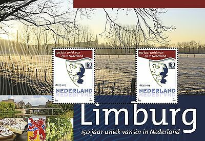 Nederland / The Netherlands - Postfris / MNH - Sheet 150 years Limburg 2017