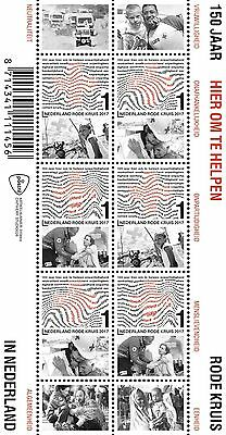 Nederland / The Netherlands - Postfris / MNH - Sheet Red Cross 2017