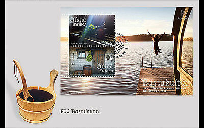 Aland - Postfris / MNH - FDC Sheet Joint-Issue Aland-Finland 2017