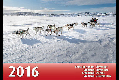 Groenland / Greenland - Postfris / MNH - Complete Yearpack 2016