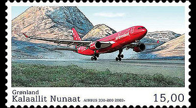 Groenland / Greenland - Postfris / MNH - Complete set Aviation 2016